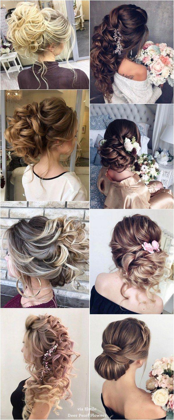 Best Hair Style For Bride   : Elstile Long Wedding Hairstyle Inspiration / www.deerpearlflow…
