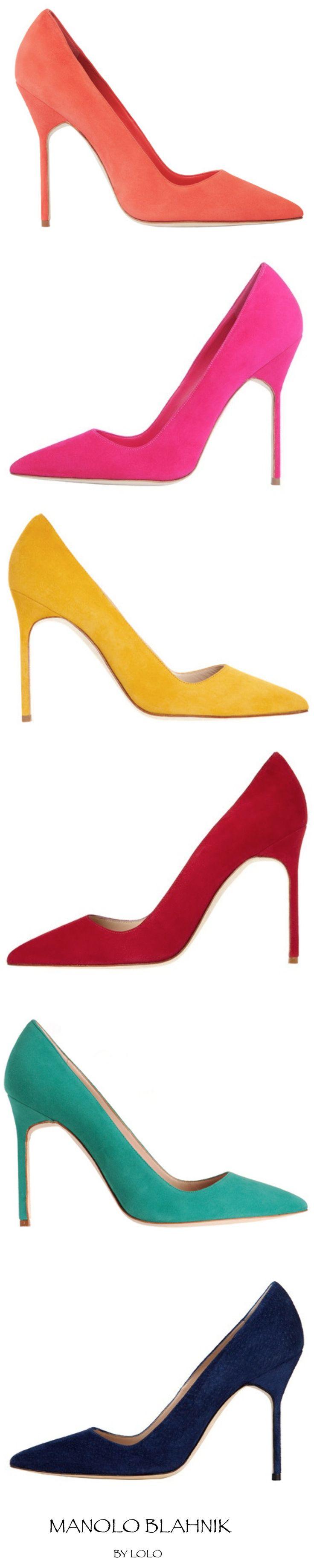 Best Women's High Heels : Manolo Blahnik…pick your color!