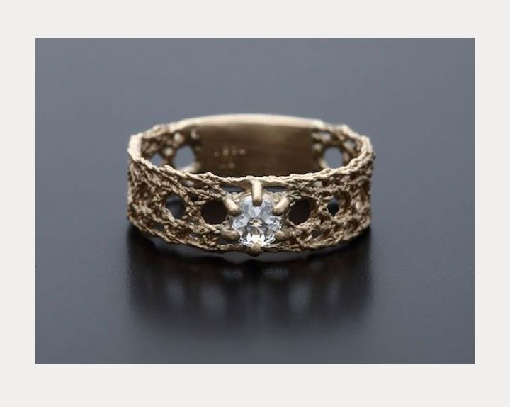 """Engagement Rings & Wedding Rings : """"Recollection"""" from Maison Rubus"""