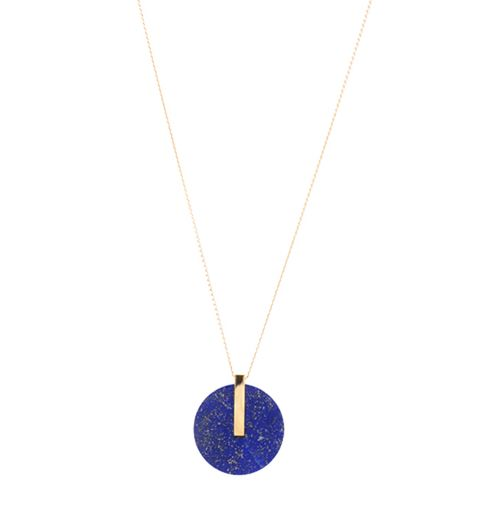 Luxury Jewelry  2017/2018 : Le pendentif en lapis lazuli de Marion Vidal