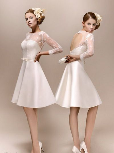 Short Wedding Dresses  : Elegance
