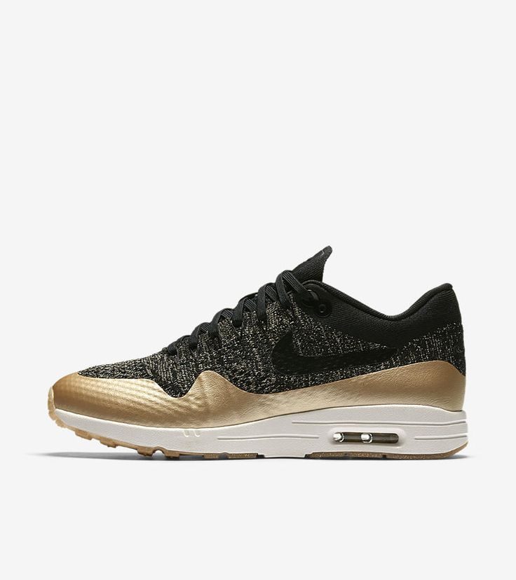 Sneakers – Women's Fashion : AIR MAX 1 ULTRA 2.0 FLYKNIT METALLIC POUR FEMME