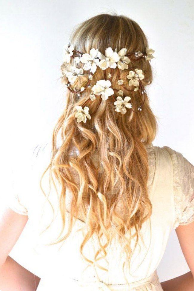 Wedding Hair With Flowers & jewels : 60 acessórios incríveis que farão a cabeça das noivas